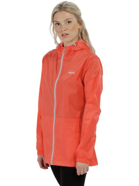 Regatta Pack-It III Jacket Women Neon Peach